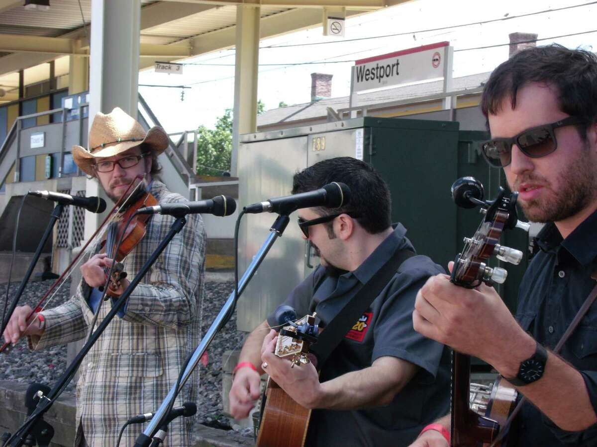 Live music was one of the features of the 2012 Slice of Saugatuck.