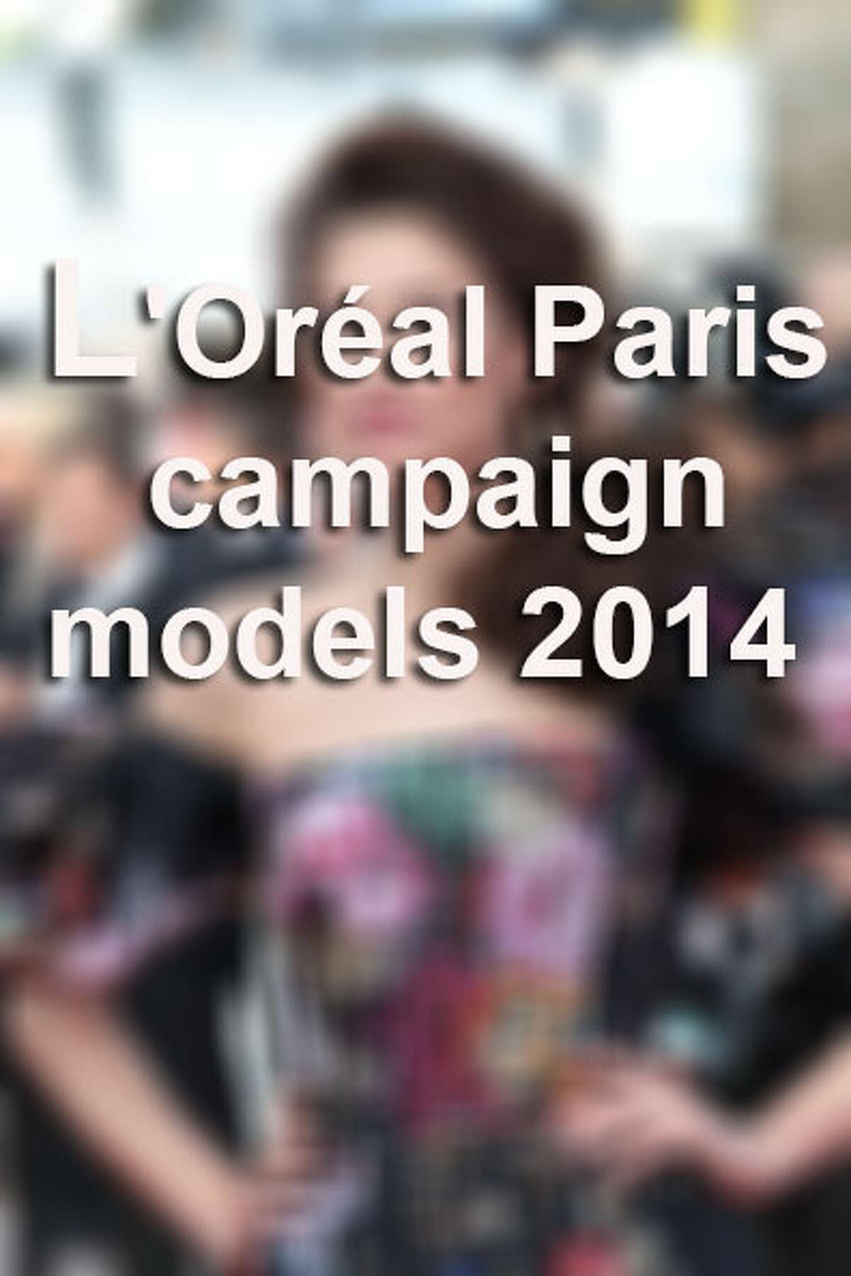 The L'Oreal Paris cosmetics and beauty company spokespeople have a subtle blend of sensuality and glamour that captivate and inspire all races and ethnicities. Here is a list of the campaign models in 2014.