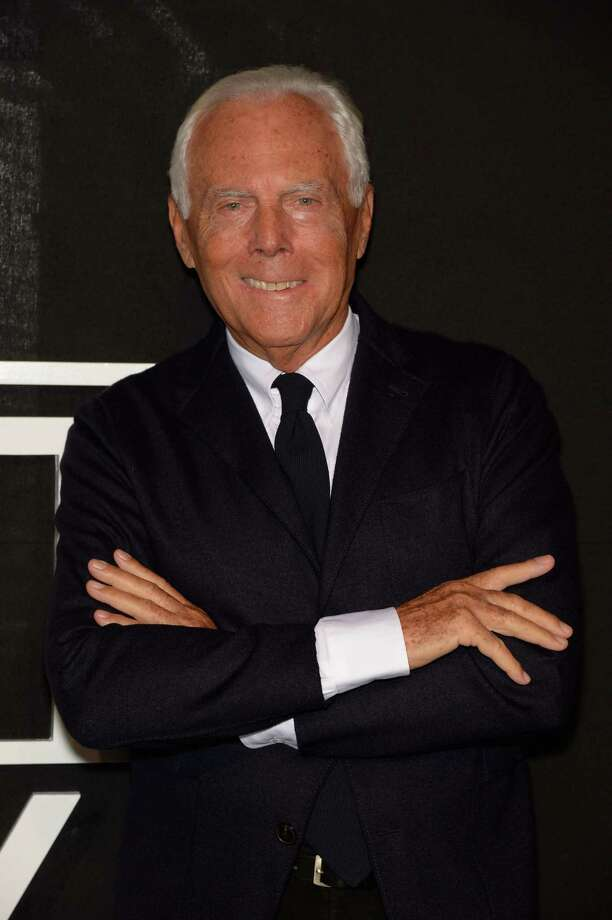 Giorgio Armani will be turning 80 on Friday, July 10. He has been designing for nearly half of those years. In honor of his birthday, here is a look back at some of his work. Photo: Dominique Charriau, Getty / 2014 Dominique Charriau