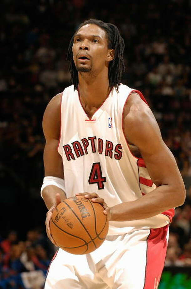 2009-10 season  In his final season with the Raptors, Bosh posted career highs in points (24) and rebounds (10.8). Photo: Ron Turenne, NBAE/Getty Images / 2010 NBAE