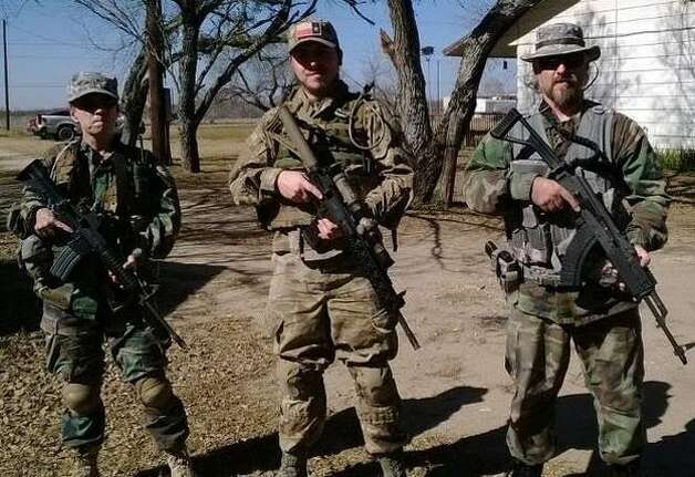 """Chris Davis, a 37-year-old truck driver who was discharged from the Army in lieu of court martial, is leading a citizen militia of """"Patriots"""" who want to """"secure the border."""" (via Facebook) Photo: Courtesy"""