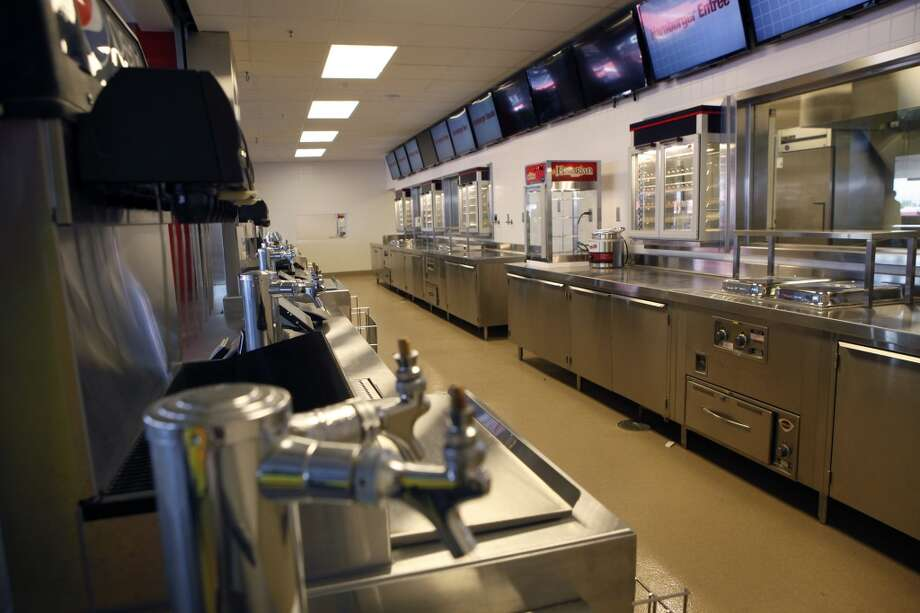 An interior view of one of the many concession stands on the main concourse level at the 49ers' new Levi's Stadium in Santa Clara, CA, Wednesday, July 9, 2014. Photo: Michael Short, The Chronicle