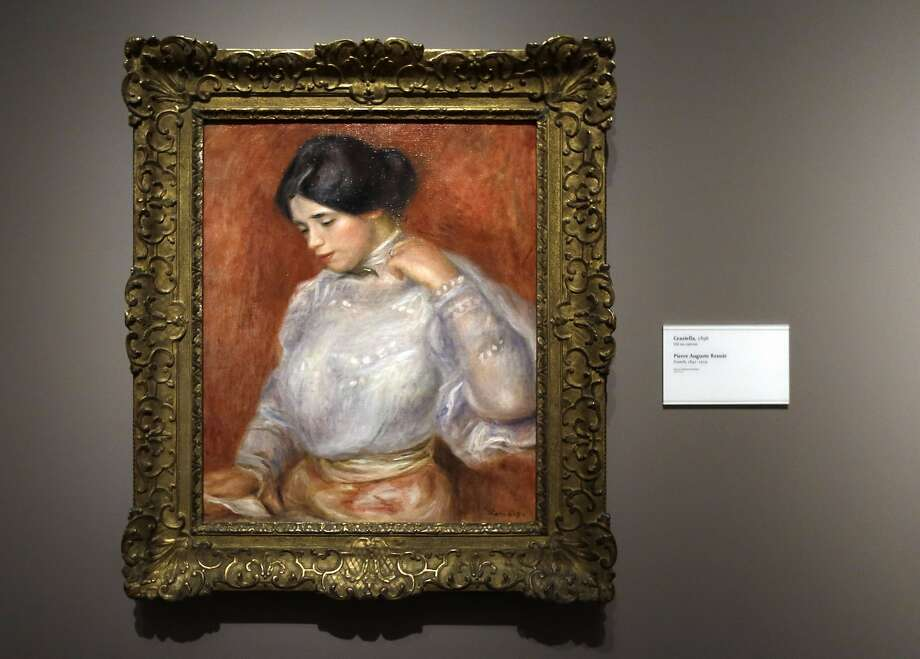 "Some creditors are calling on bankrupt Detroit to sell its vast trove of fine art, including Renior's ""Graziella."" Photo: Carlos Osorio, Associated Press"
