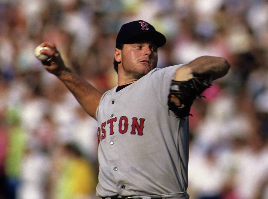 "1997: ""Rocket"" takes off -- to CanadaRoger Clemens was one of the most dominant pitchers in baseball with the Red Sox, but by the time the 1997 season rolled around, the Boston brass believed Clemens was on his last legs -- or arms, whatever. ""The Rocket"" proved them wrong with Toronto, winning the Cy Young Award in both 1997 and 1998. He would go on to play until he was 44-years-old, winning Cy Youngs with the Yankees in 2001 and 2004. Photo: Ronald C. Modra/Sports Imagery, Getty Images / 1990 Ronald C. Modra/Sports Imagery"