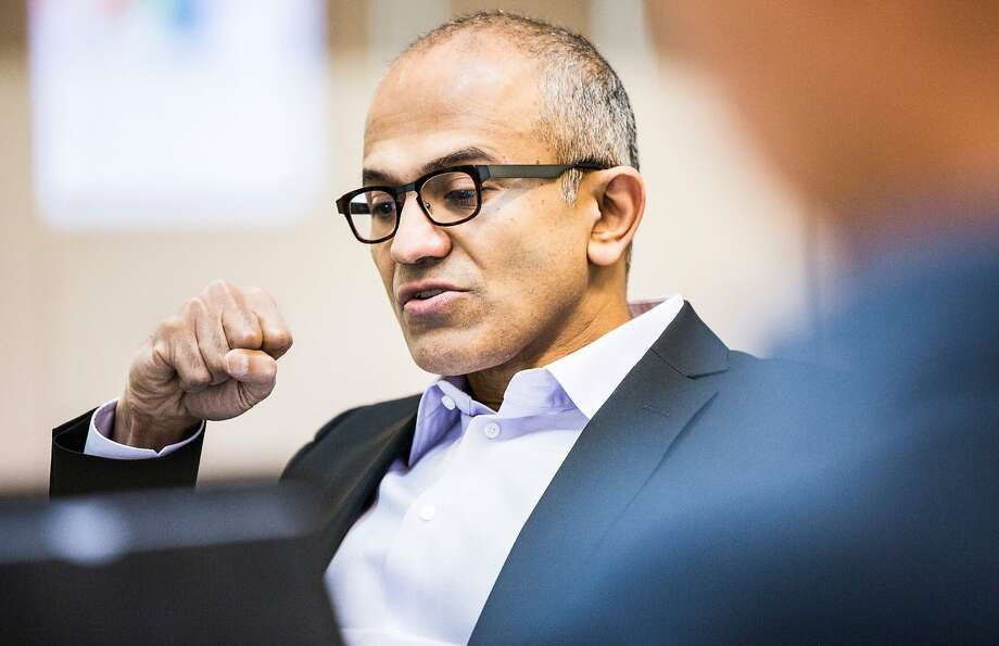 Satya Nadella, named CEO in February, plans big changes at Microsoft. Photo: Microsoft, McClatchy-Tribune News Service