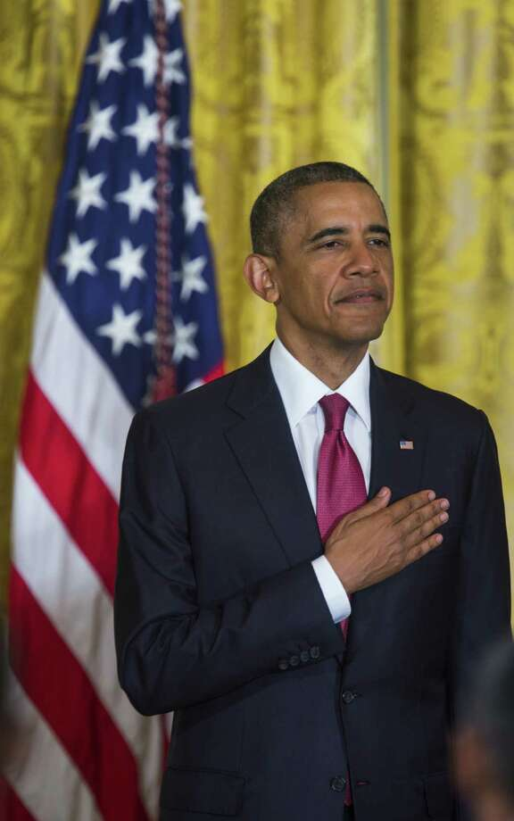 President Barack Obama is right to use executive orders to move ahead with immigration reform in areas where he can. Photo: Jim Lo Scalzo / Getty Images / 2014 Getty Images