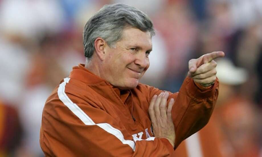 Former Texas Longhorns football coach Mack Brown is now a commentator with ESPN.Click through the gallery to see pictures of Brown through the years.