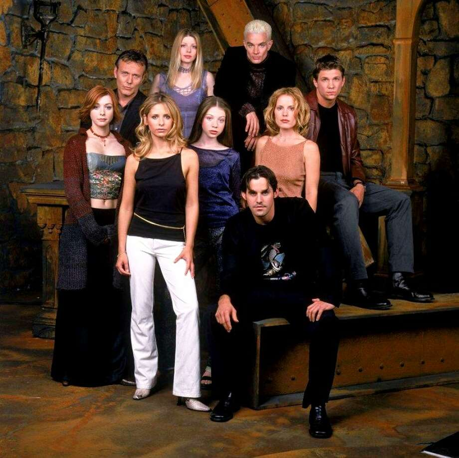 'Buffy the Vampire Slayer,' Joss Whedon's now-classic   vampire power series was based on his 1992 movie by the same name. (The series was considerably better.) You can watch the entire series on Netflix. Photo: The WB