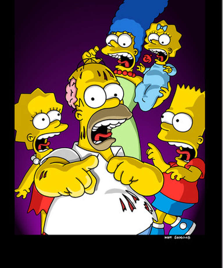 'The Simpsons' began their annual Halloween episode (which often runs after Halloween), 'Treehouse of Horror' back in 1990. Since then, they have spoofed everything from the 'Twilight' movies to 'Paranormal Activity' to the original 'War of the Worlds' to countless 'Twilight Zone' episodes. There have been 24 'Treehouse of Terror' episodes since 'The Simpsons' began the tradition. Photo: FOX / 1