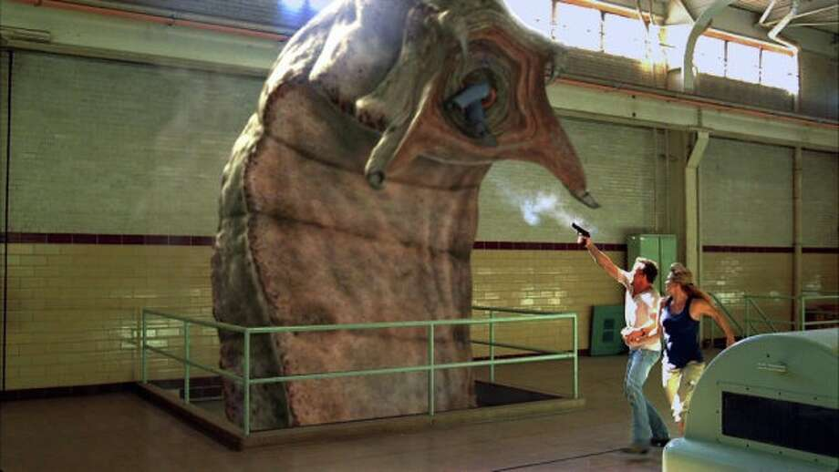 'Tremors' a delightfully silly 1990 B-movie became 'Tremors' a delightfully silly B-TV series on what is now Syfy. It aired for only 13 episodes before being cancelled. Unfortunately, 'Tremors' is as of this writing, unavailable to stream online. Photo: Syfy