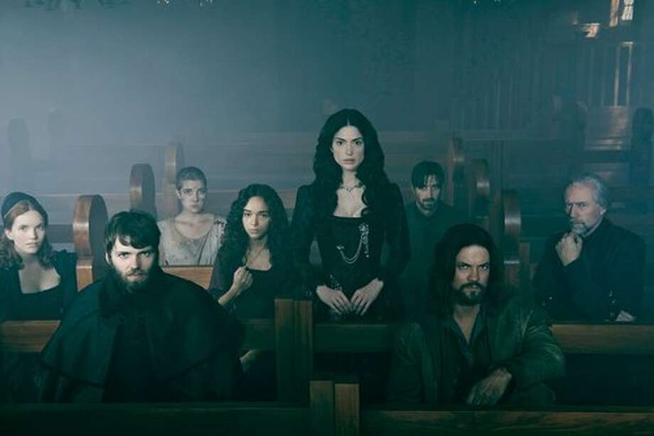 WGN dipped its toes into the horror genre with its new sometimes ridiculous, sometimes creepy witch series, 'Salem,' a fictional recreation of the Salem witch trials. A second season will air in 2015. Photo: WGN