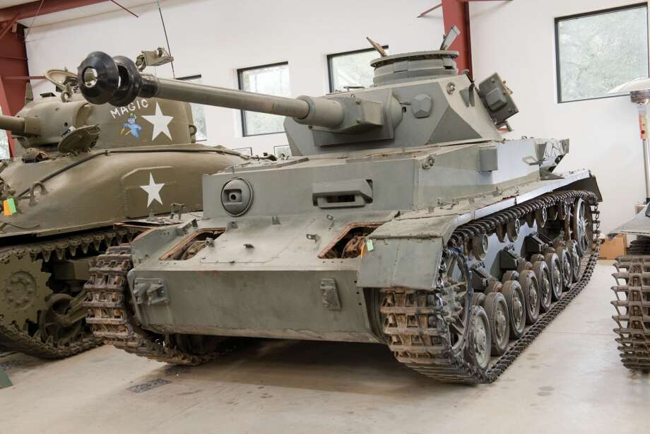 A German made  Panzerkampfwagen IV tank that the Israeli Army captured in 1967. (Courtesy Auctions America)