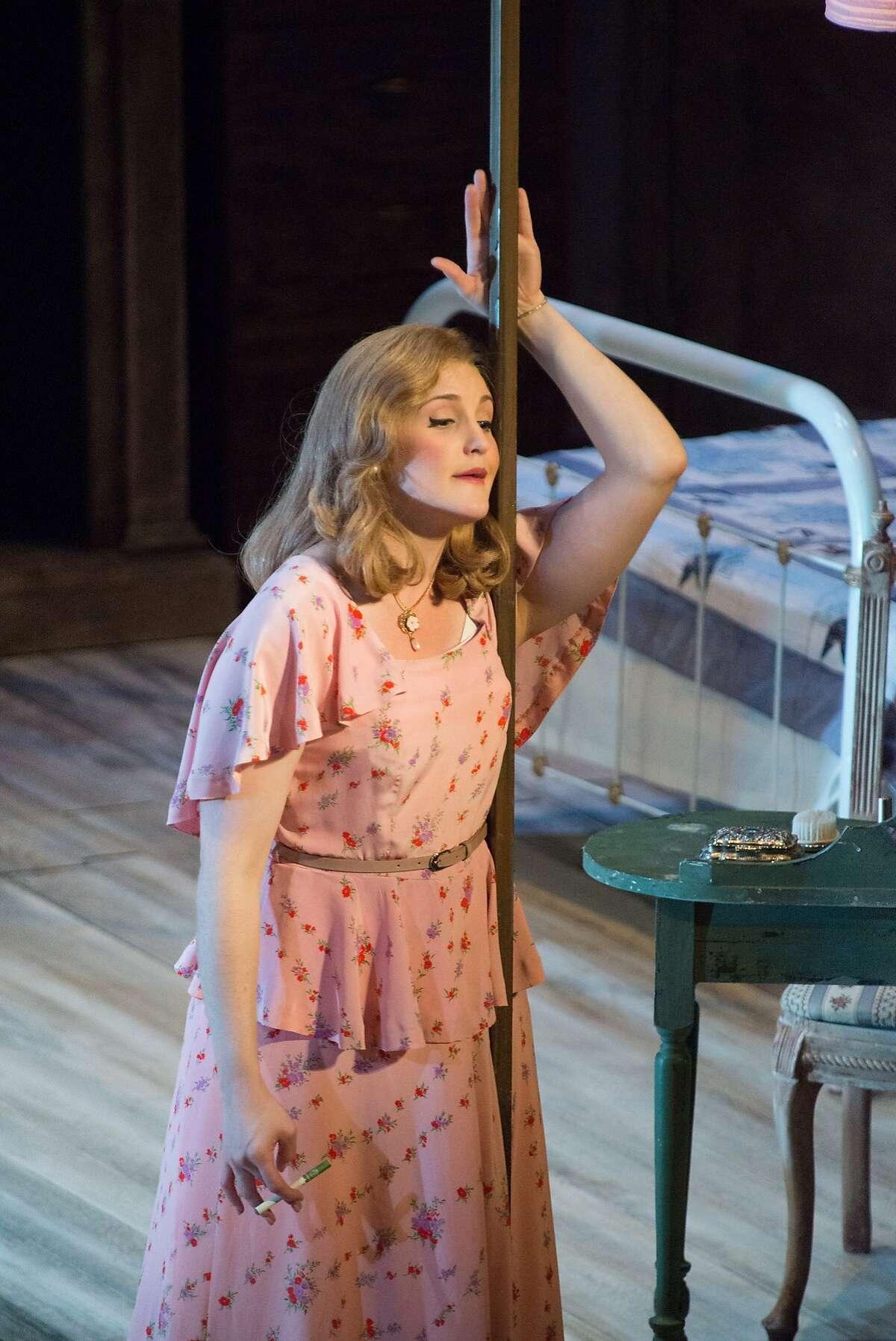 Julie Adams (Blanche DuBois). A Streetcar Named Desire. Merola Opera Program.