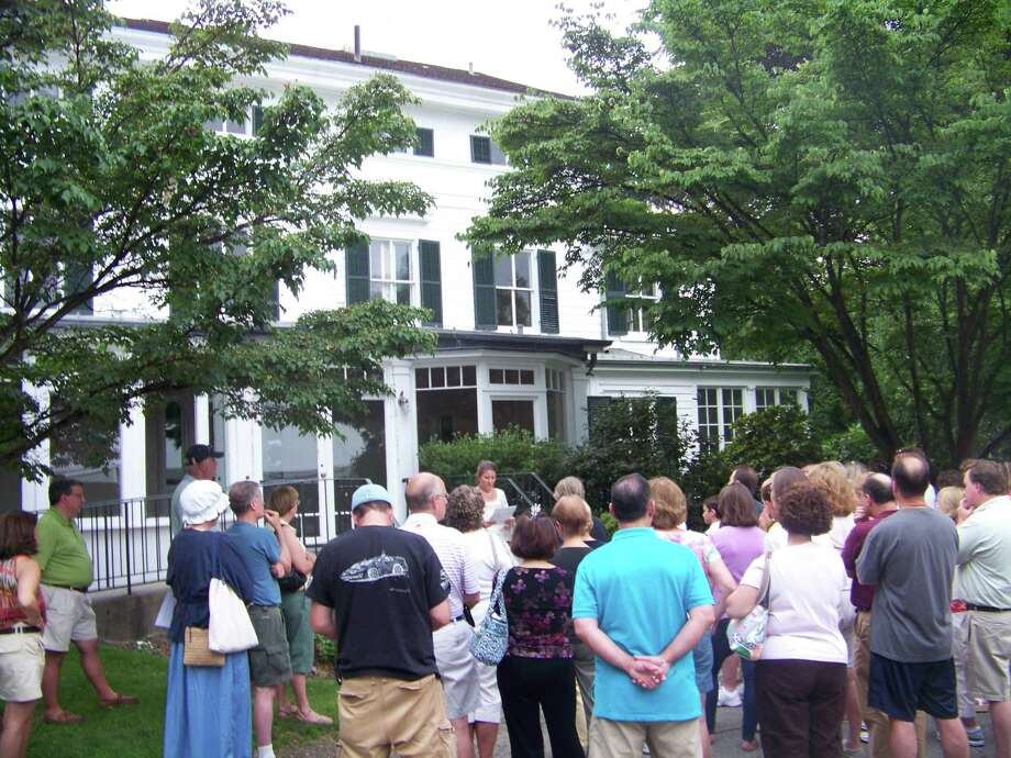 Tours around the historic Fairfield Town Green will take place on Saturday. Above is the historic Burr Homestead, where John Hancock and Dorothy Quincy were married on Aug. 23, 1775. Find out more.  Photo: Contributed Photo / Connecticut Post Contributed