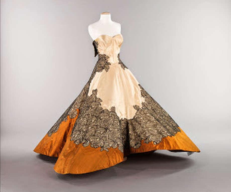 Charles James four-leaf clover dress, 1953. Photo: Lea Christiano