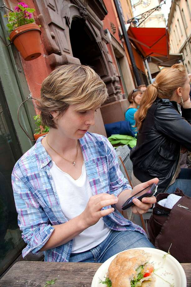 Using Wi-Fi at cafes when traveling can cut roaming charges significantly. Photo: Dominic Bonuccelli, Rick Steves' Europe