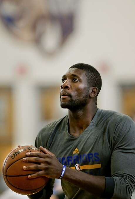 Festus Ezeli has been working hard on his game as he heals from surgery. Photo: Michael Macor, The Chronicle