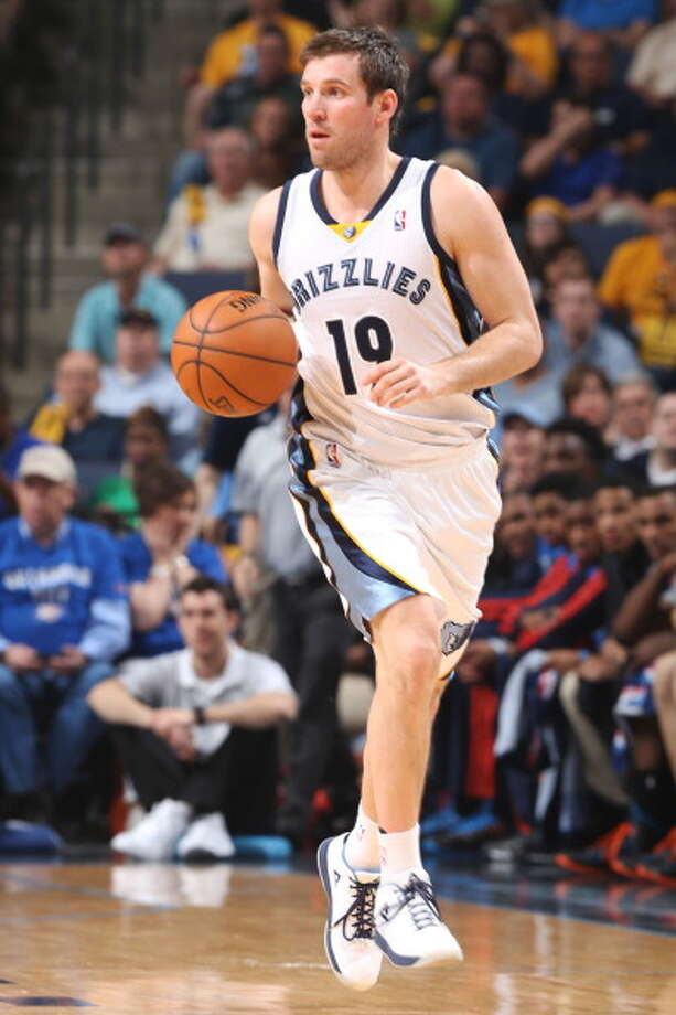 Beno Udrih Point guard Age: 32 Status: Re-signed with Memphis Grizzlies on a two-year deal. Photo: Joe Murphy, NBAE/Getty Images / 2014 NBAE