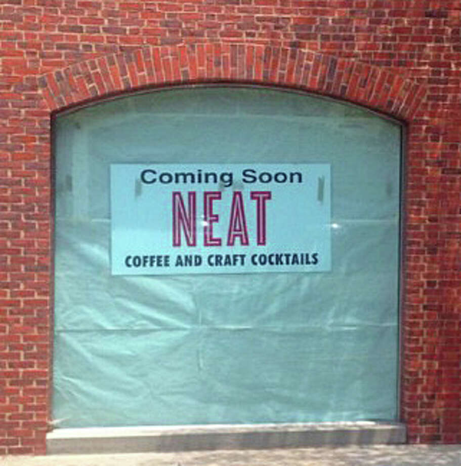 Neat, a new cafe that plans to offer craft coffee and cocktails, plans to open in August in the former fire station at 6 Wilton Road, part of the National Hall development. Photo: Contributed Photo / Westport News