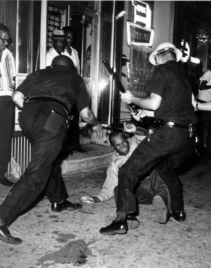 Friday: The 50th anniversary of race riots in Harlem, New York, which began following the shooting of 15-year-old James Powell by a white off-duty police officer. Photo: Associated Press / 1964 AP