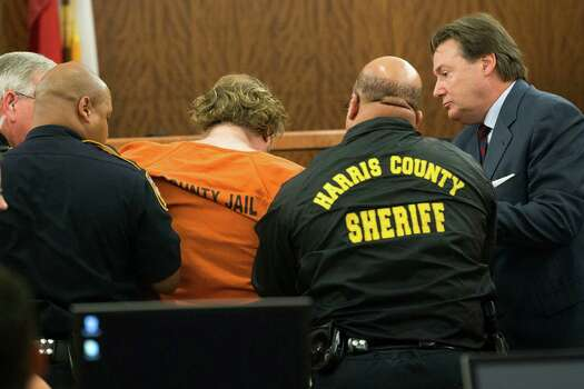 Accused mass shooter Ron Lee Haskell appears in court on Friday, July 11, 2014, in Houston. Haskell is accused of a mass shooting that resulted in the death of six people. Photo: Brett Coomer, Houston Chronicle / © 2014 Houston Chronicle