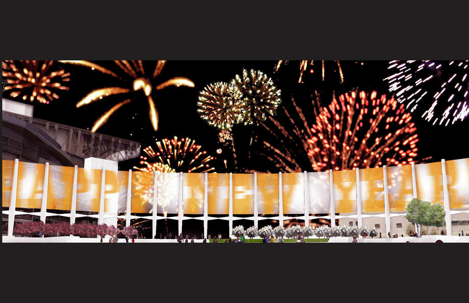 A place to watch New Year's fireworks. Photo: 20628, Gensler Architects