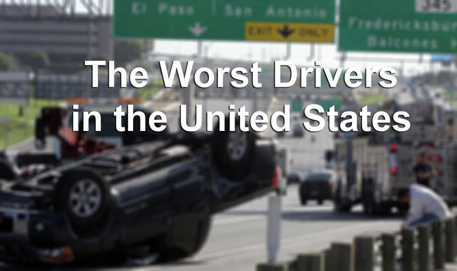 It's no secret that Texas has some dangerous drivers, but are they the worst in the nation? Car insurance website carinsurancecomparison.com sought to answer that question. Click the image to see which states have the worst drivers. Photo: JOHN DAVENPORT, . / SAN ANTONIO EXPRESS-NEWS