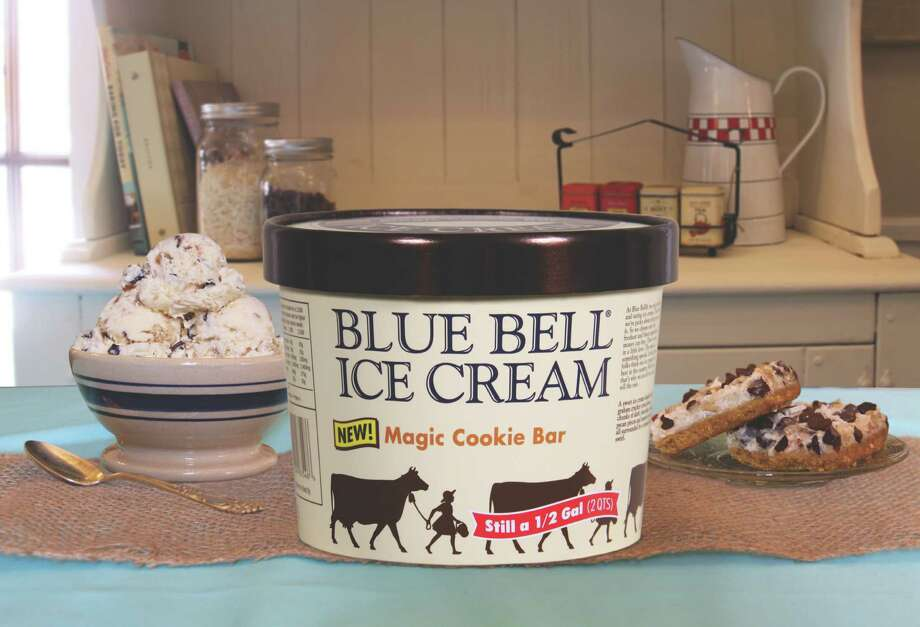 Blue Bell's newest flavor, Magic Cookie Bar. Click through the slideshow to see some our favorite Blue Bell flavors. Let us know in the comments below which is your favorite flavor Photo: Blue Bell Creamery