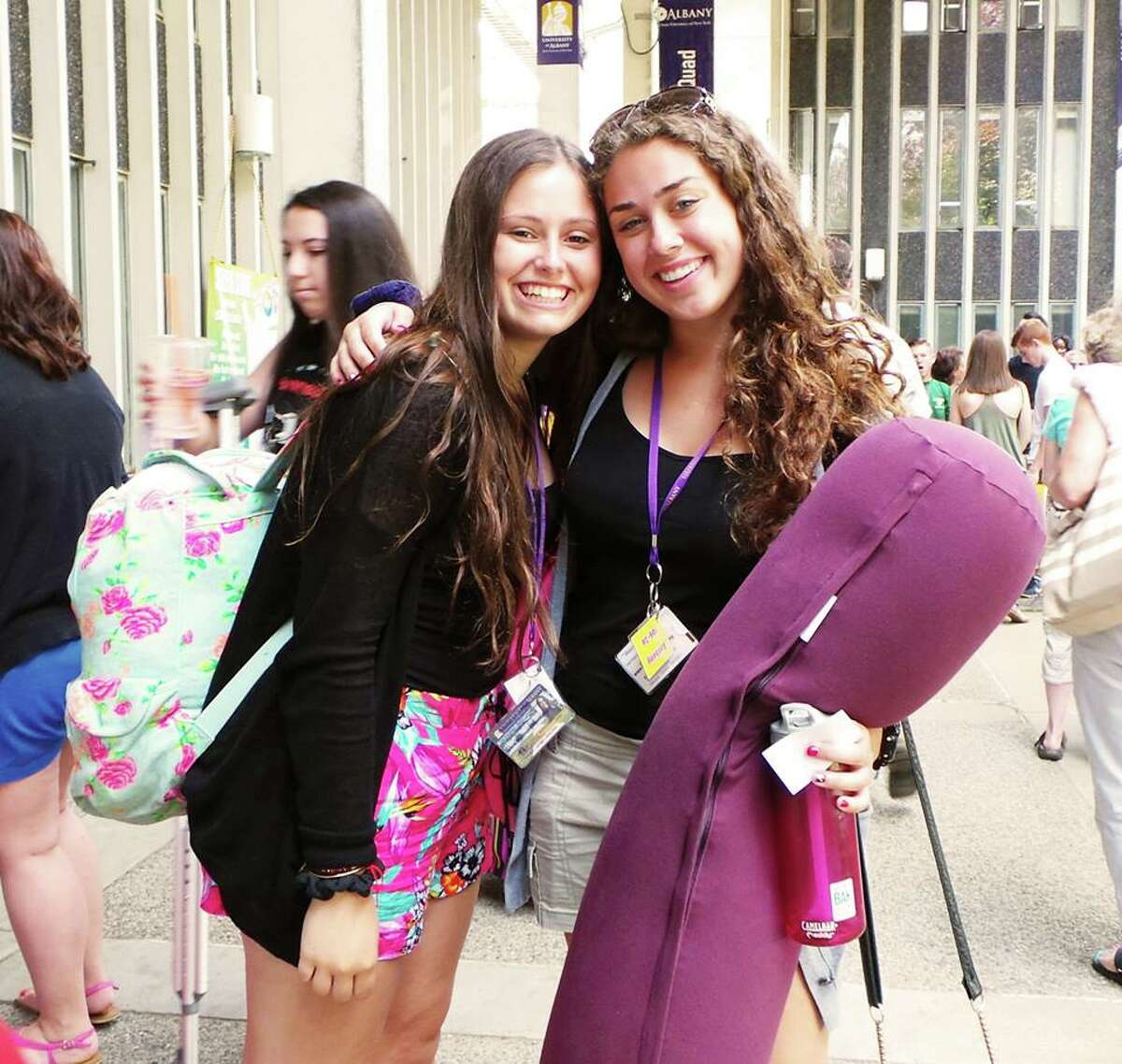 Were you Seen at the summer orientation sessions for new students held at UAlbany from July 7 to July 11, 2014?
