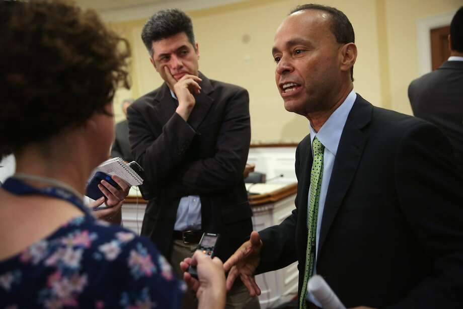 Rep. Luis Gutierrez, D-Ill., opposes legislative efforts to hasten the return of immigrant youths. Photo: Alex Wong, Getty Images