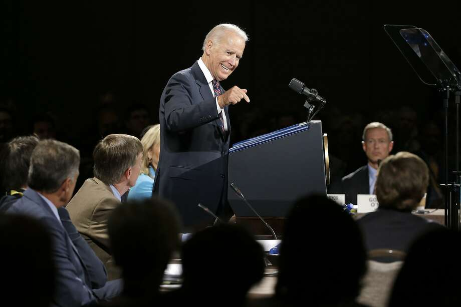 "At the National Governors Association meeting in Nashville, Vice President Joe Biden rues ""corrosive"" politics. Photo: Mark Humphrey, Associated Press"