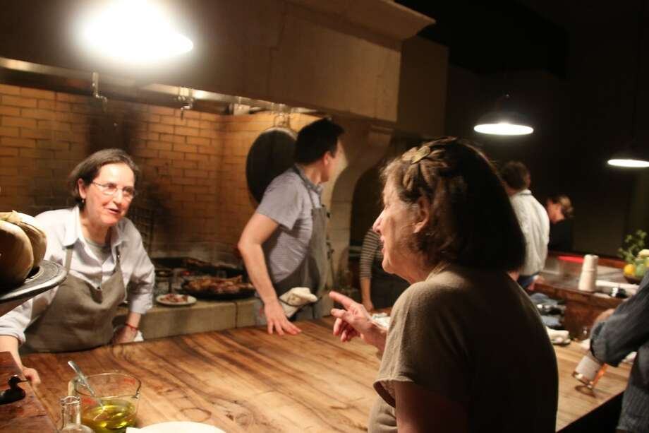 Chefs in action at the Paula Wolfert Tribute Dinner. Photo: Alzheimer's Association