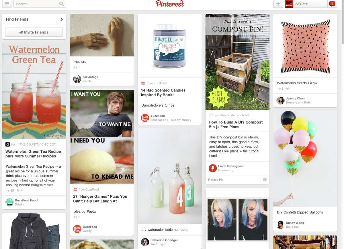 Pinterest What: The social network for sharing images that spawned countless copy cats and was most recently valued at $5 billion. Fashion is more visible, shareable and viral than ever, thanks in large part to its presence as a core part of what populates Pinterest, the San Francisco company best known for making scrolling walls of images a constant and a norm of today's online experience. The hotly anticipated rollout of paid advertising this spring through Promoted Pins stands to make the network even more attractive to brands. Why it's addictive: The network's increasing popularity among consumers, as well as the confluence of brands and retailers using it as a marketing tool, have made it a choice place to discover the latest styles, new product launches and plenty of behind-the-scenes glimpses of designers, labels and fashion icons. www.pinterest.com
