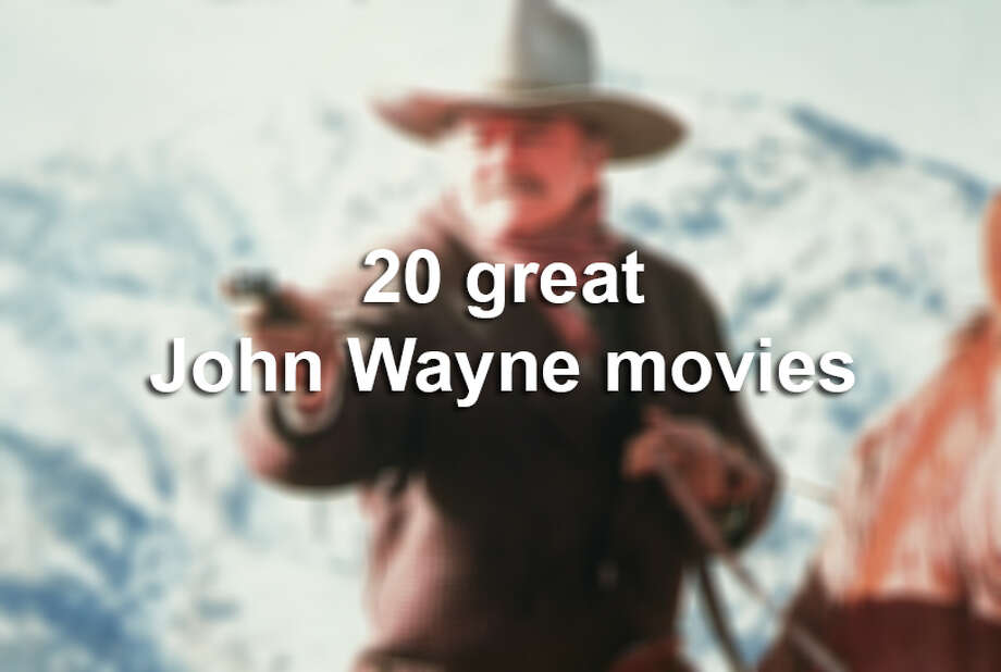 Actor John Wayne racked up nearly 200 film credits during his lengthy Hollywood career. Here are 20 favorites, with links to their IMDb.com pages. Photo: Hulton Archive, Getty Images / 2005 Getty Images