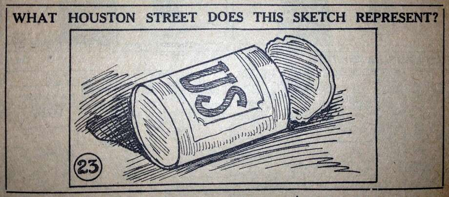AUSTIN  Then: A tin can labeled U.S. Many tripped up on this one.  Now: Many said Canfield. A few got this one correct.