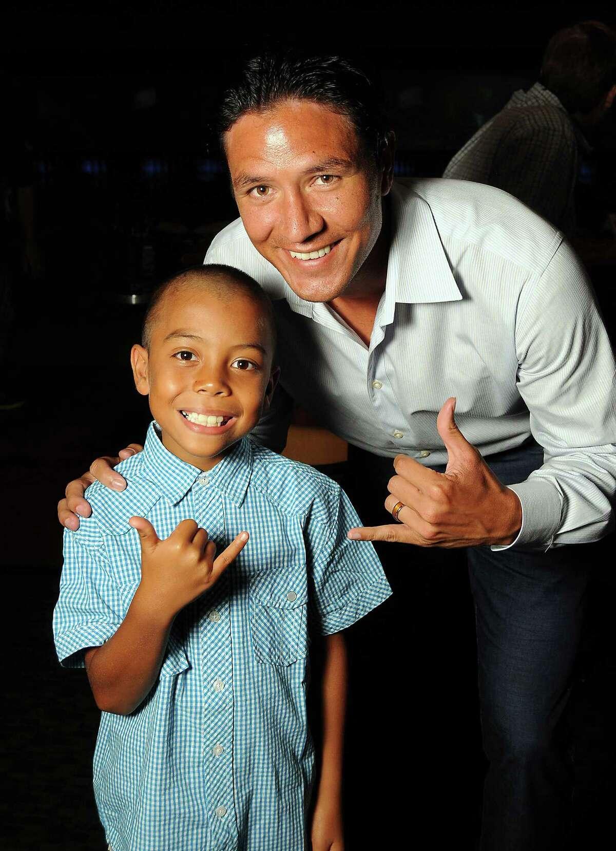 Dynamo Brian Ching and his nephew Keahi