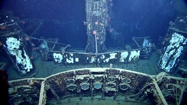 SS Robert E. LeeTop deck. On July 30th, 1942 at 10:30 PM, a torpedo from U-166 hit the vessel, which took about 15 minutes to sink. One officer, nine crewman, and fifteen passengers died as the vessel went down. Photo: Ocean Exploration Trust