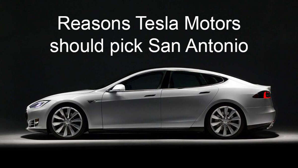 Electric car company Tesla Motors is reportedly weighing Dallas as a potential site for its gigafactory battery plant. Here's why San Antonio should have it, instead.PHOTO: Tesla Motors' Model S.