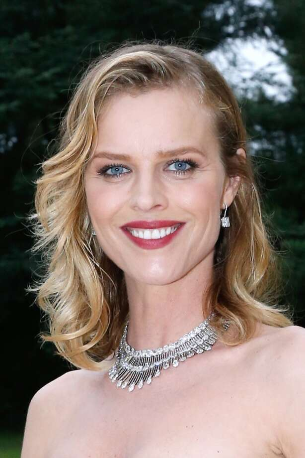 Eva Herzigova in 2014. Photo: Bertrand Rindoff Petroff/amfAR14, WireImage