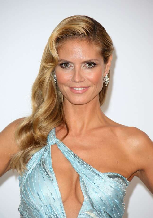 """Model Heidi Klum in 2014. Klum is now better known as the executive producer and judge on """"Project Runway."""" Photo: Mike Marsland, WireImage"""