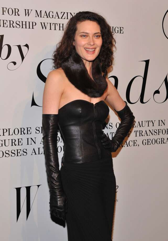 Shalom Harlow in 2012. She's mostly retired from modeling. Photo: Fernando Leon, Getty Images