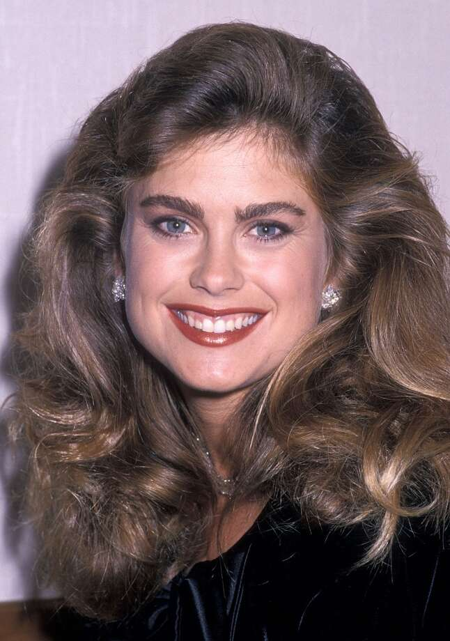 Kathy Ireland in 1989. Ireland appeared in 13 consecutive Sports Illustrated swimsuit editions. Photo: Ron Galella, WireImage