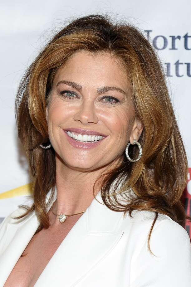Model Kathy Ireland in 2014. Thanks to her Kathy Ireland line of clothing and products, she's now estimated to be worth $350 million, according to Forbes. Photo: Rommel Demano, Getty Images