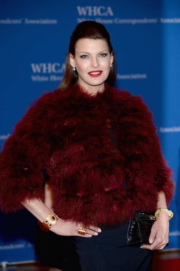 Model Linda Evangelista in 2014. Photo: Dimitrios Kambouris, Getty Images