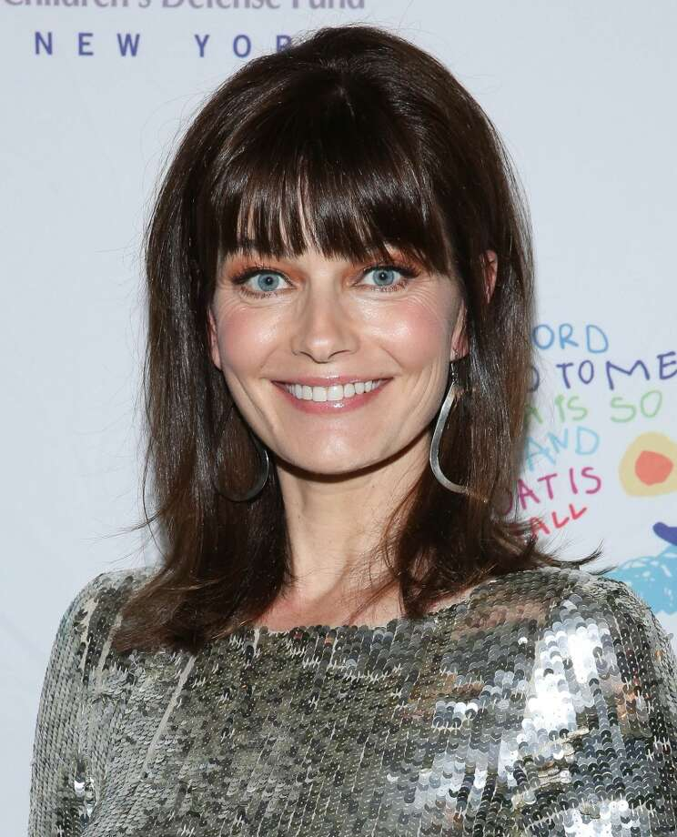 Paulina Porizkova in 2014. She's a blogger on Huffington Post, and has been married to Cars' frontman Ric Ocasek since 1989. Photo: Rob Kim, Getty Images