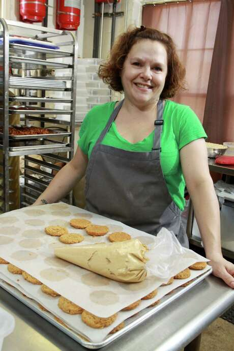 Pastry chef/owner Rebecca Masson raised $53,000 in a Kickstarter campaign to fund the opening of her bakery, Fluff Bake Bar. Photo: Gary Fountain, Freelance / Copyright 2014 by Gary Fountain