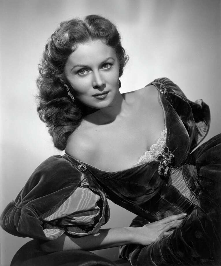 "Rhonda Fleming, circa 1949Born: Aug. 10, 1923The actress nicknamed ""The Queen of Technicolor"" was best known for ""Spellbound,"" ""The Spiral Staircase,"" ""Out of the Past"" and ""Gunfight at the O.K. Corral."" Photo: Hulton Archive, Getty Images / Archive Photos"