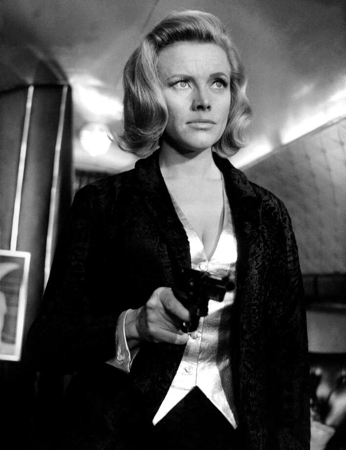 "Honor Blackman, 1964Born: Aug. 22, 1925The actress is best known as Bond girl Pussy Galore in 1964's ""Goldfinger,"" and for TV's ""The Avengers."" Photo: Apic, Getty Images / ©APIC"