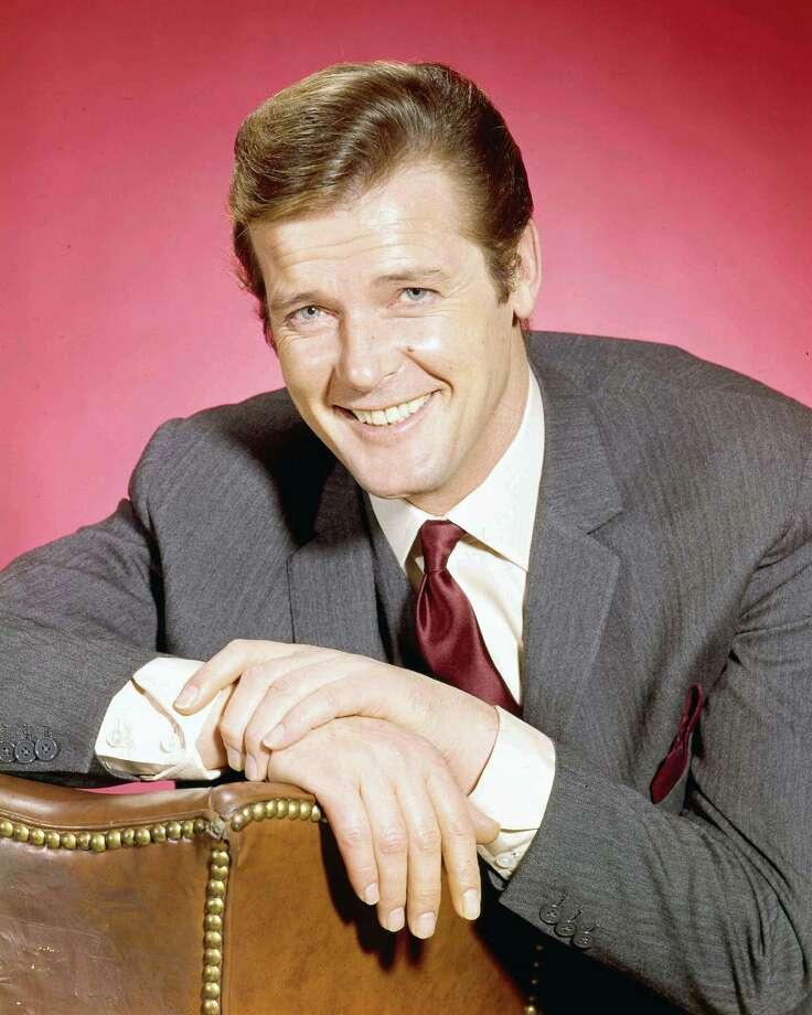 "Roger Moore, circa 1964Born: Oct. 14, 1927The  English actor was best known for ""Ivanhoe"" and ""The Saint,"" before taking over the role of James Bond in 1973. Photo: Silver Screen Collection, Getty Images / 2006 Getty Images"