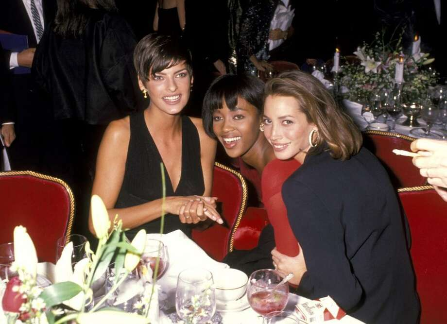 We take a look at some of the world's biggest supermodels, from Gisele to Twiggy, then and now. These three ladies, Linda Evangelista, Naomi Campbell, and Christy Turlington, were some of the most famous faces of the late '80s and '90s. Photo: Ron Galella, WireImage